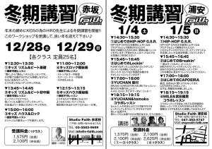 2013-2014 冬期講習
